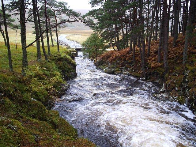 Allt an Dubh Loch Bhig Burn