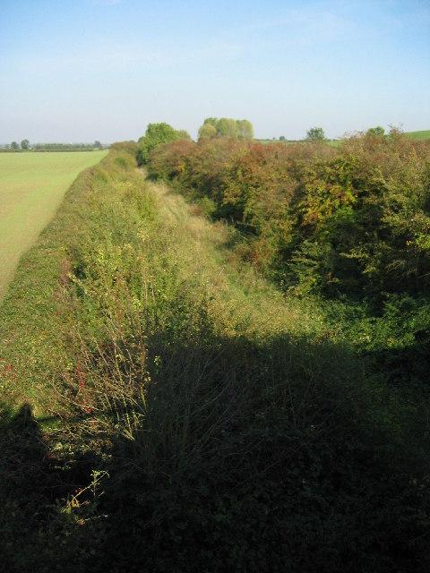 Old railway track, near Barkestone