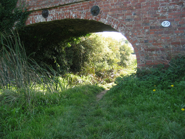 Bridge 50, Grantham Canal near Barkestone