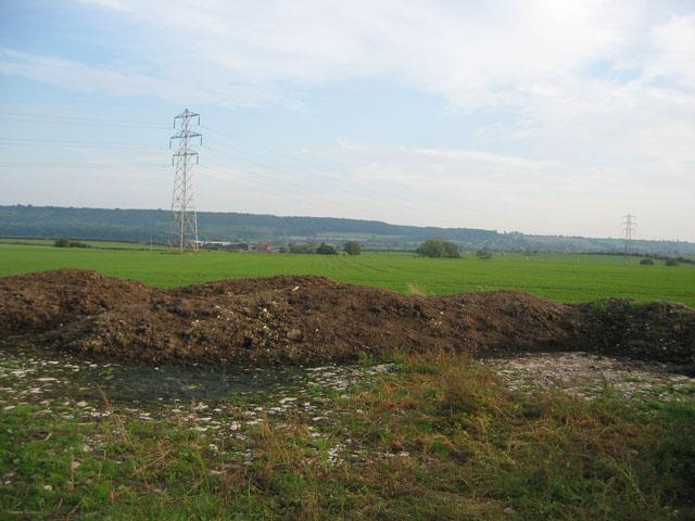 Farmland near Plungar, Leicestershire