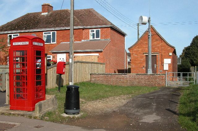 Centre of communication in Tibberton