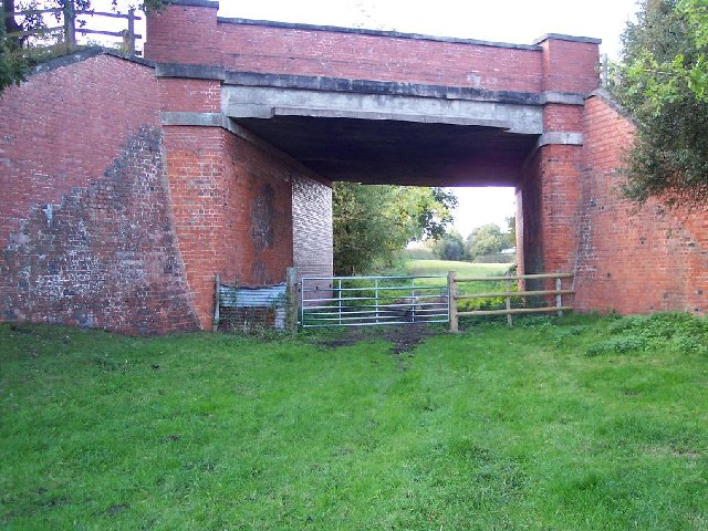 Bridge over disused railway nr Whitchurch