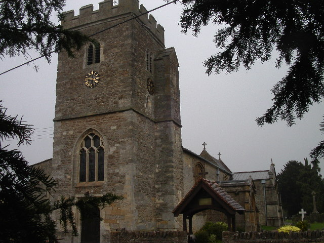 St Peter's church Drayton
