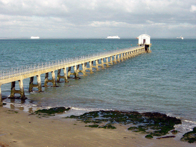 Another view of the Lifeboat station, Bembridge