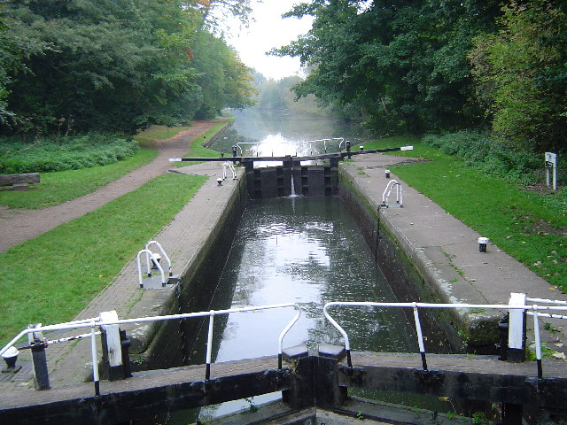 Grand Union Canal: Lock Number 77: Iron Bridge Lock