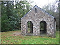 SX1864 : Picnic Barn at Trago Mills by Phil Williams
