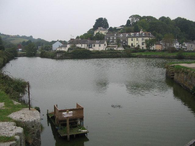 Harbour Basin at Pentewan