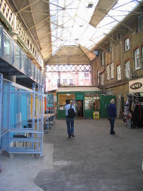 The old Spitalfields Market, London