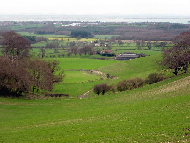 Viewpoint near Mersley Down