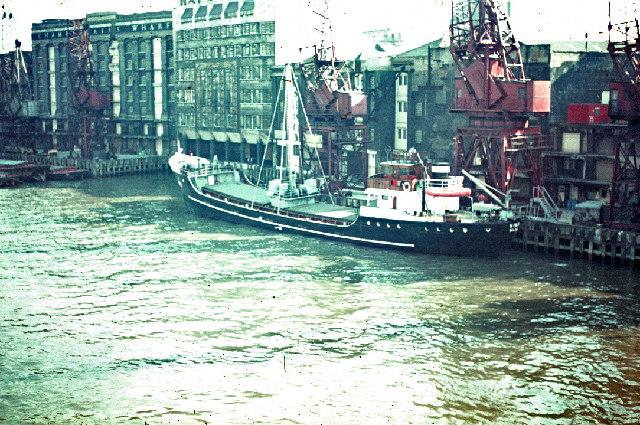 Hay's Wharf c1960