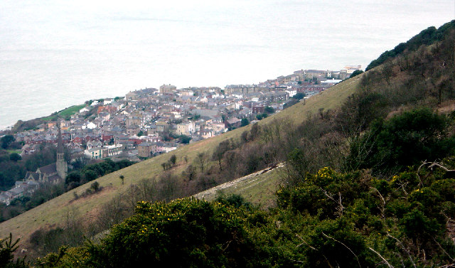 Bonchurch Down and Ventnor