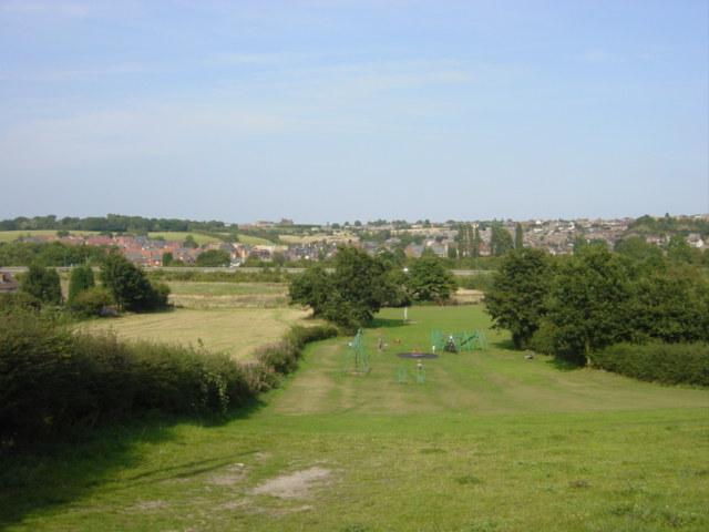 Children's playground, Castle Gresley