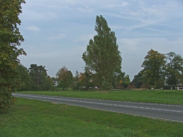 A1000 (Old Great North Road) at Hadley Green, Hertfordshire