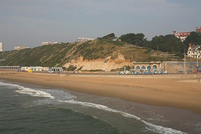 Boscombe beach, west of pier