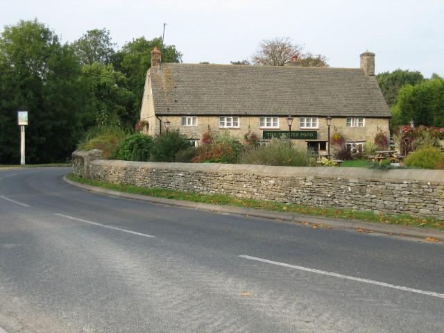 The Trigger Pond pub, Bucknell
