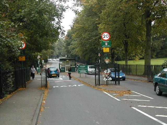 Nottingham University West Entrance