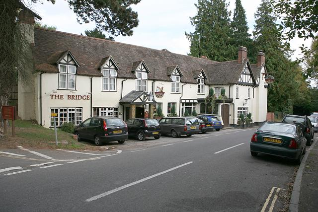 The Bridge pub, Shawford