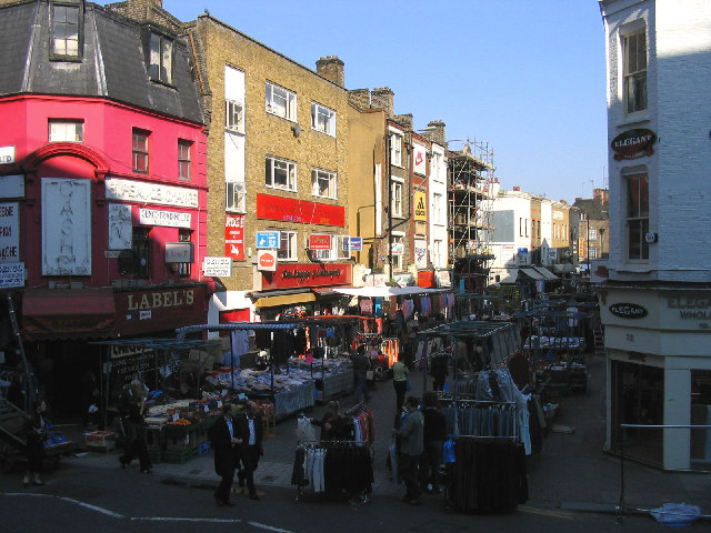 Wentworth Street Market, London