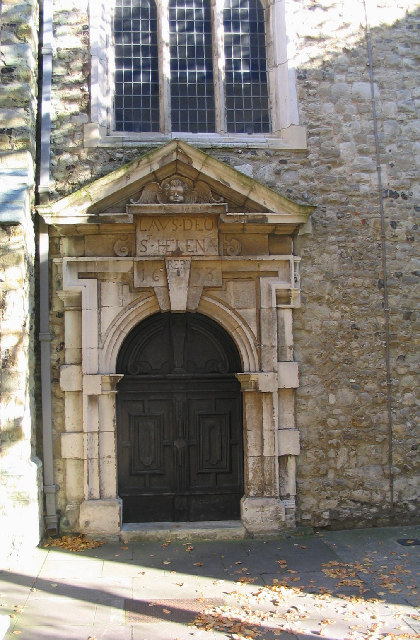 South entrance to St. Helen's Church, Bishopsgate, London