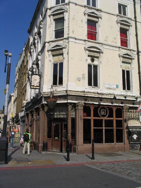 The Ten Bells, Commercial Street, E1