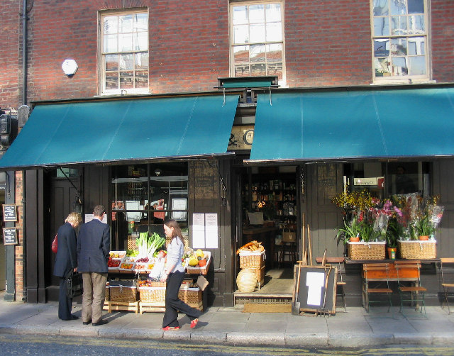 Greengrocers, Brushfield Street, City of London