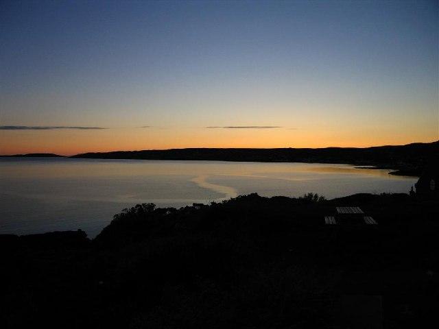 Sunset across Loch Gairloch