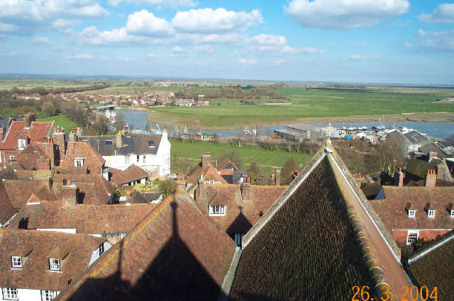 Rye from the tower of St Mary's Church (1)