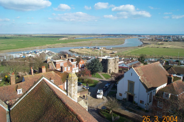 Rye from the tower of St Mary's Church (2)