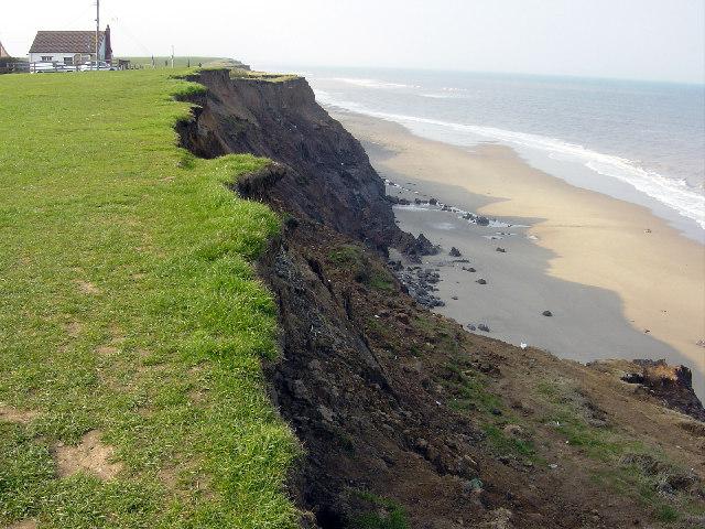 Cliffs at Mount Pleasant,  Aldbrough 2004
