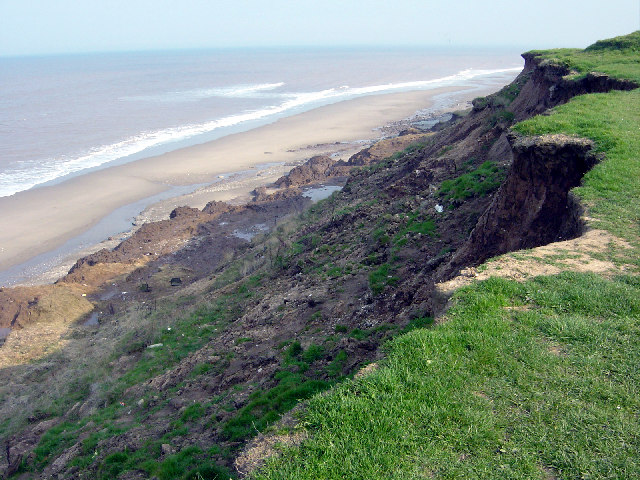 Cliff erosion, near Mount Pleasant 2004