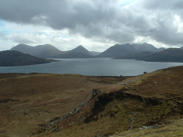 The Cuillin Hills on Skye taken on a ridge walk between Fearns and Eyre on Raasay