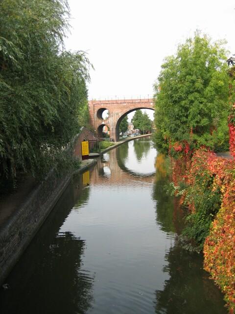 Autumn on the Worcester & Birmingham