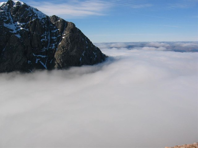 Cloud Inversion - North Face of Ben Nevis
