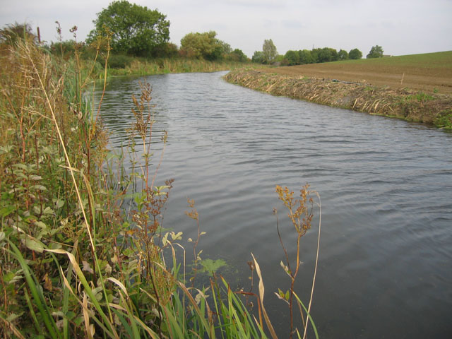 The disused Grantham Canal near Bottesford, Leicestershire