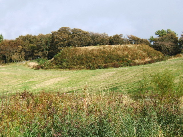The remains of a Motte and Bailey castle, Ardwell, Stranraer