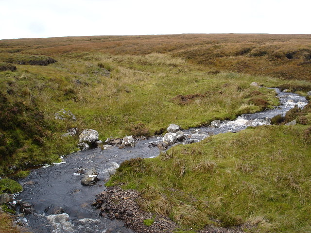 Meander in the Allt Mor