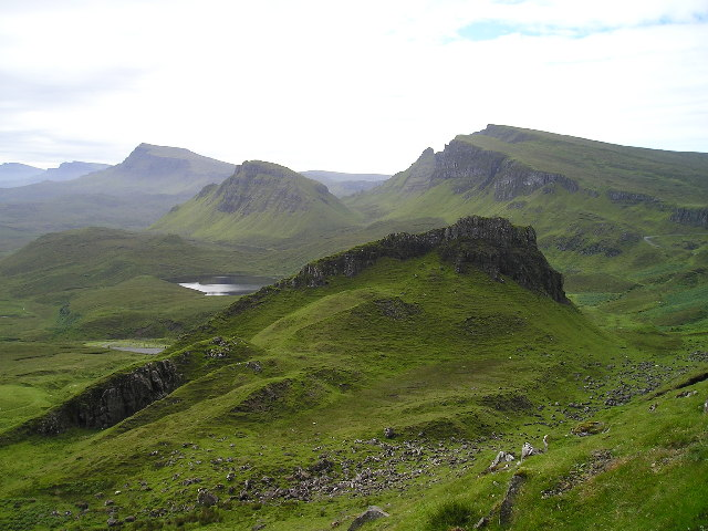South of the Quiraing, summer