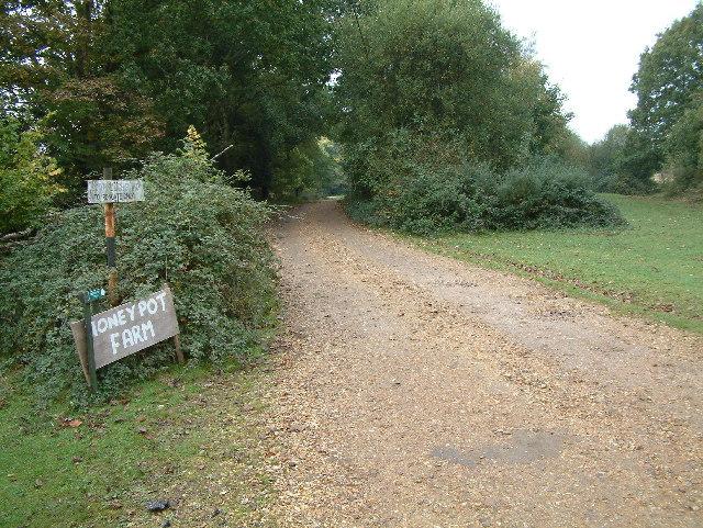 Honeypot Farm entrance