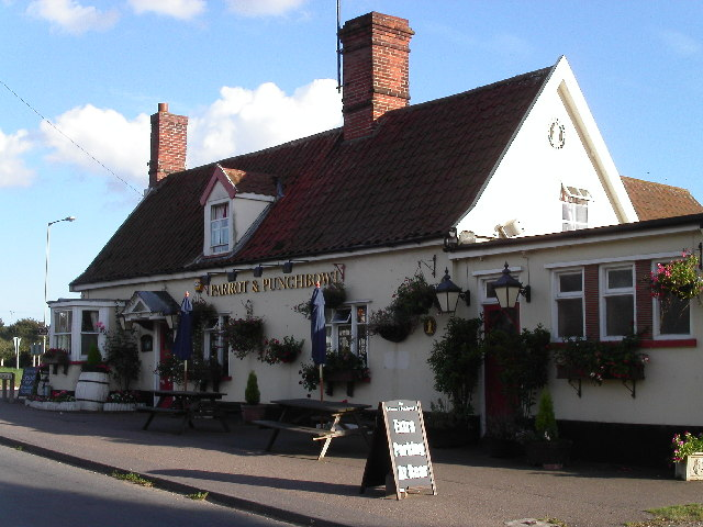 The Parrot and Punchbowl, Aldringham
