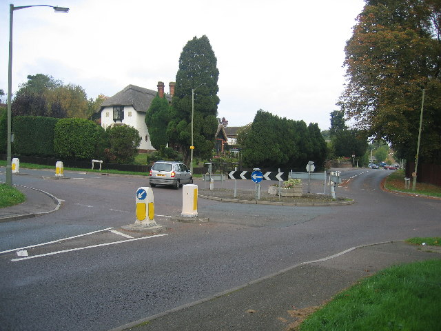 Junction of Lower Road and Bell Lane, Fetcham