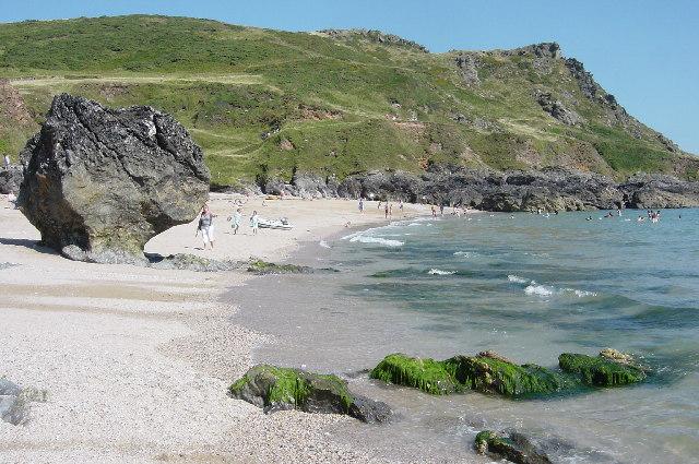 Great Mattiscombe sand beach