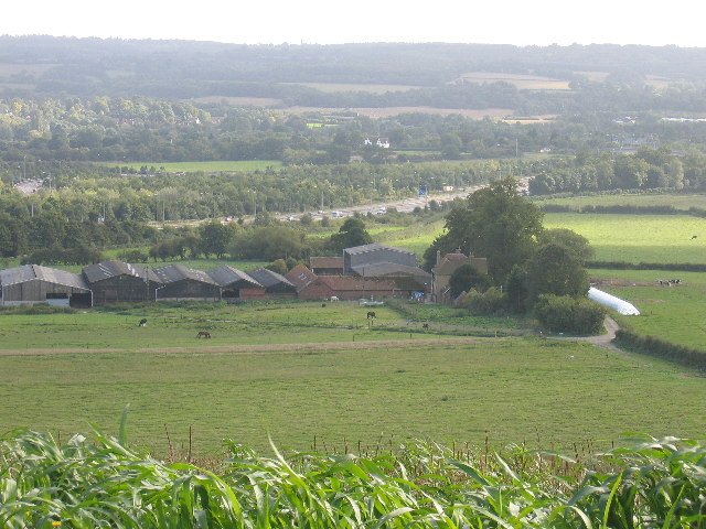 Turvins Farm and the M25