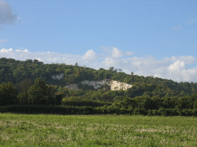 Quarry near Twitton