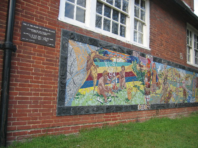 The Story of Otford in Mosaic