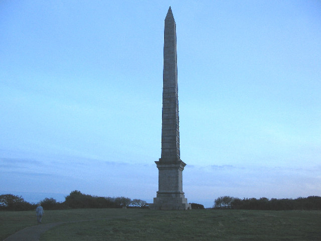 The Gilbert Monument on the Beacon