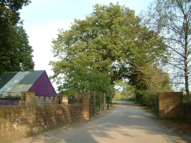 The Entrance to Busta Farm