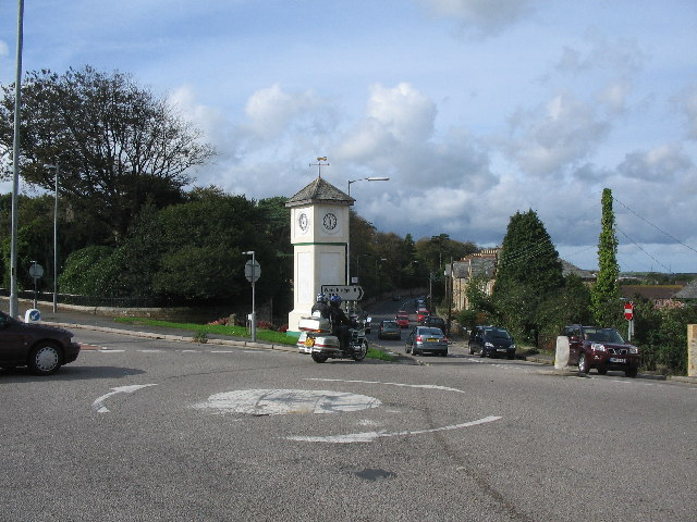 Clocktower at  Bodmin