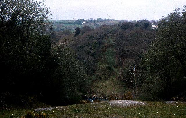 Site of former Grenofen railway viaduct