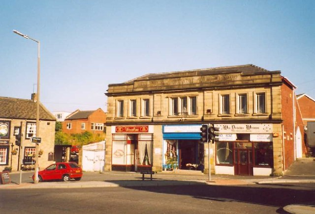 Former Co-op shop, Middlestown, Sitlington