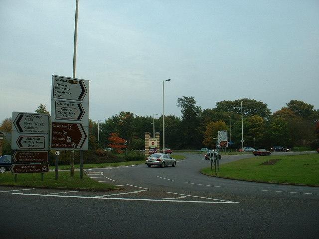 Wellington Roundabout, Aldershot